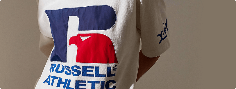 Russell Athletic and X-Girl Collaboration