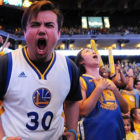 PlayStation Shocks Golden State Warriors Fans with Full-Court Video Game Ad