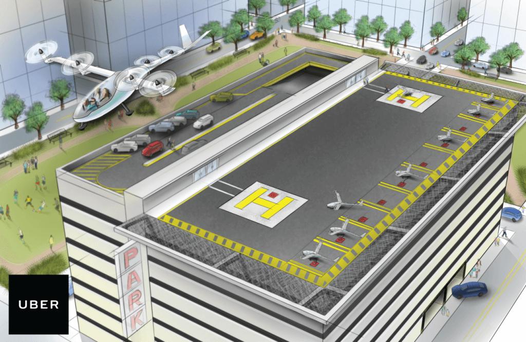 Uber Elevate - Flying Cars