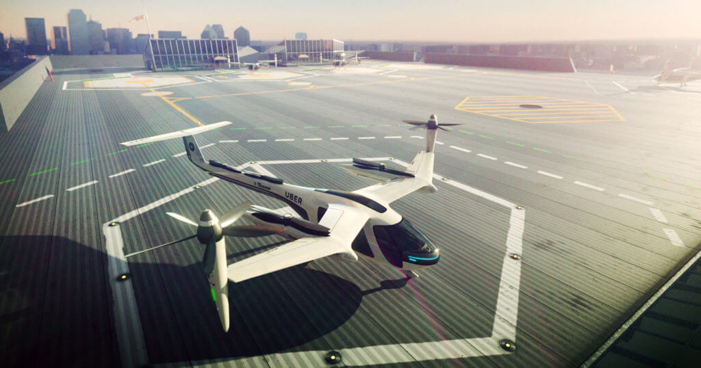 Uber is Inching Towards Autonomous Flying Services